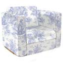 Toile Kid's Upholstered Rocker