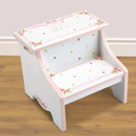 Ballet Blooms Step Stool