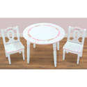 Ballet Blooms Table and Chairs Set