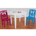 Peace Game Table & Chair Set