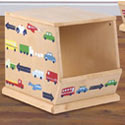 Traffic Jam Stackable Bin