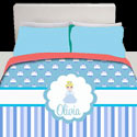 Personalized Cinderella Bedding Set