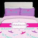 Personalized Little Princess Toddler Bedding