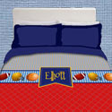 Personalized Play Ball Bedding Set