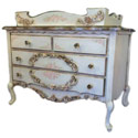 Delila English Rose Garden Dresser/Changer