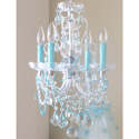 Crystal 4 Light Chandelier