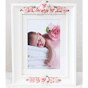 Pink Bouquet Picture Frame