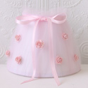 Pink Tulle Roses Night Light