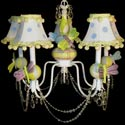 Friendly Dragonfly 5 Arm Chandelier