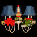 Choo Choo Train Chandelier