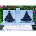 Sail Away Bookends