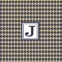 Houndstooth Personalized Wall Art