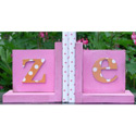 Monogram Bookends