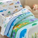 Endangered Animals Toddler Bedding
