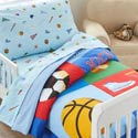 Game On Toddler Bedding