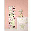 Butterfly Garden Growth Chart Wall Decal