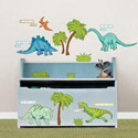 Dinosaur Expedition Wall Decal