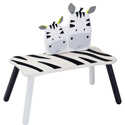 Eco-Friendly Zebra Long Bench