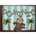 Safari Fun Name Plaque