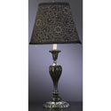 Black Lottis Blossum Lamp
